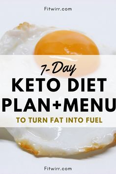 The low-carb keto diet is unique and different from other diets, and that's because its objective is to get your body to turn fat into fuel rather than using glycogen. If you are starting a ketogenic diet, here is a dietitian's sample first week meal plan for keto diet. High Fat Foods, Low Fat Diets, Diet Dinner Recipes, Keto Recipes, Keto Diet Plan Menu, Easy Diets To Follow, Macro Calories, Keto Diet Review, Keto Diet Breakfast