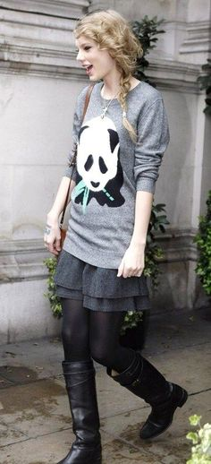 Taylor Swift Fashion and Style - Taylor Swift Dress, Clothes, Hairstyle - Page 17