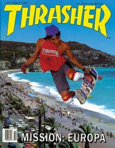Thrasher Magazine cover - October 1987