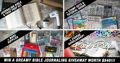 Win A Dreamy Bible Journaling Giveaway Worth Over $500!