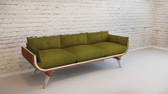 Faces commode/cabinet/sofa concept by Radmila Petrovic
