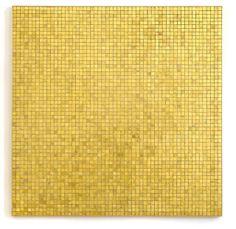 JOHN M. ARMLEDER Popoxcomitl, 2006 Gold mosaic 39 2/5 × 39 2/5 in 100 × 100 cm Edition of 10 Galerie Sabine Knust Price:€18,000