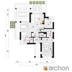 Dom w telimach 2 (G) Hamptons House, The Hamptons, Home Decor Kitchen, Decoration, Pergola, Floor Plans, House Design, House Ideas, Houses