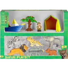 "Animal Planet Soft Safari Set - Toys R Us - Toys ""R"" Us"