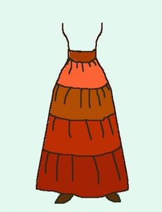 Make a Gypsy Skirt (any size) tutorial