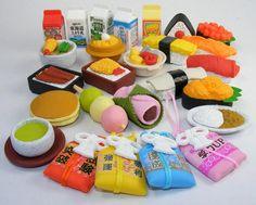 Japanese Erasers