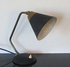 Elegant Swedish desk lamp by EWA Varnamo by MidModLamps on Etsy