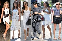 Best Dressed: The Week In Outfits.  Celebrities make good fashion sense too.  Very casual and street fun fashion.