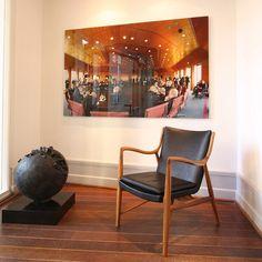 Model 45 easy chair by Finn Juhl