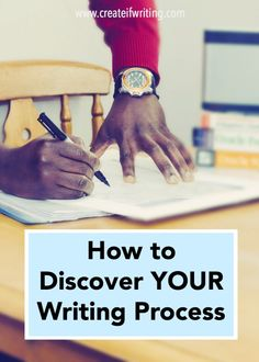 Before you write,  you need to know how to discover your writing process. Write better, smarter, faster.