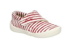 Girls Canvas Shoes - Briley Mae Fst in Red Canvas from Clarks shoes Clarks, Adidas Sneakers, Canvas, Girls, Red, Shoes, Fashion, Tela, Toddler Girls