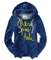 Stacked graphic popover hoodie from Aeropostale