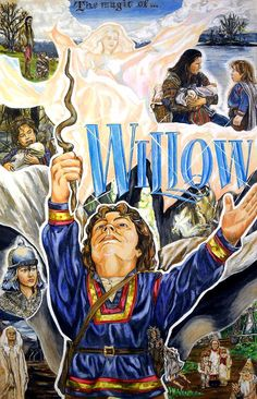 Willow (1988) | A world where heroes come in all sizes & adventure is the greatest magic of all! | Artwork by Jacob Kurt Jr [©2009]