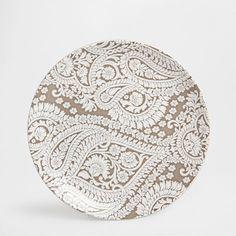 Paisley earthenware tableware - Dinnerware - Tableware | Zara Home Greece