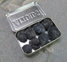 Make firestarter balls out of dryer lint and petroleum jelly. | 21 DIY Emergency Preparedness Hacks