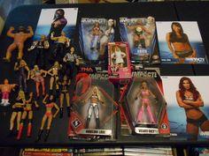 WRESTLING ACTION FIGURE LOT DIVAS WWE WWF HASBRO LJN JAKKS TNA HARDY BOYZ