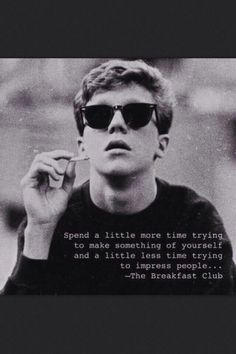 The Breakfast Club <3 such a good movie