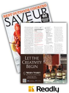 Suggestion about Saveur June / July 2014 page 31