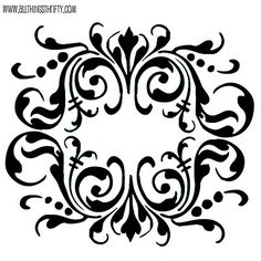 Stencil patterns just for you!-Stencil patterns just for you! Stencil patterns just for you! Stencil Patterns, Stencil Designs, Damask Stencil, Damask Patterns, Wallpaper Stencil, Decoupage, Diy And Crafts, Arts And Crafts, Paper Crafts