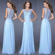 Lace-Long-Formal-Chiffon-Party-Ball-Gowns-Evening-Prom-Bridesmaid-Dresses-6-16