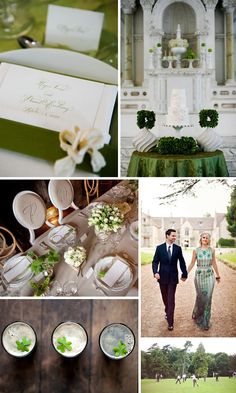 I think these are wonderful examples of classy, simple, clean and modern Irish accents to incorporate in your Irish wedding day.
