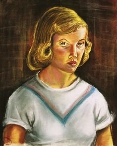 Sylvia Plath, 1951 -- Fascinating Self-Portraits of Famous Authors