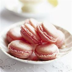 Strawberry macaroons - recipe