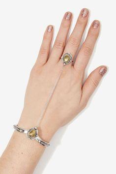 Vanessa Mooney Empire Hand Piece - Body Chains | Bracelets | Bohemian Rhapsody