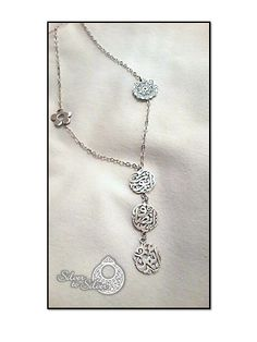 1000 images about arabic calligraphy silver jewelry on Calligraphy jewelry