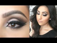 ▶ Urban Decay Naked Smoky Palette Tutorial: Smokey Cat Eye - YouTube