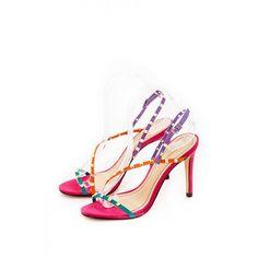 Montonelli Prémium Valódi Bőr  női színes magassarkú szandál 41 Heels, Fashion, Heel, Moda, Fashion Styles, High Heel, Fashion Illustrations, Stiletto Heels, High Heels