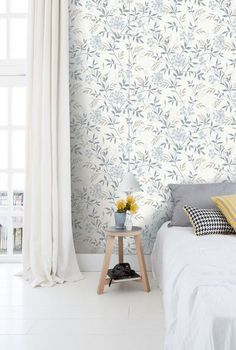 Cool 44 Perfect Bedroom Wallpaper Decoration Ideas For Your Bedroom. wallpaper 44 Perfect Bedroom Wallpaper Decoration Ideas For Your Bedroom Modern Luxury Bedroom, Luxurious Bedrooms, Wallpaper Decor, Home Wallpaper, Bedroom Wallpaper, Wall Paper Bedroom, Interior Wallpaper, Bedroom Sets, Home Bedroom