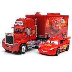 New Disney Pixar Cars Lightning McQueen Mack Mack Superliner Truck 2 Pack To | eBay