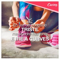 #MotivaciónFit ¿Triste yo? 😏 ¡Nunca cuando voy a Curves! 😎💪