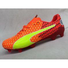 Billige Fodboldstøvler Tilbud - Bedst 2017 Puma evoSPEED 17 SL-S Orange Fodboldstovler