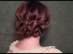 Gorgeous bohemian updo...looks pretty easy!  This girl does a great job with her videos!