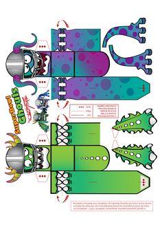 paper toy templates | castleforte.com