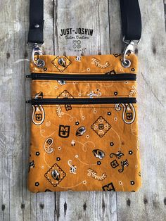 Available on @etsy MIZZOU University of Missouri Tigers Cross-body Bag Zip and Go Hipster Fandom Purse - RTS Handmade Cute Custom Bag by JustJoshinCreations #etsyfinds #etsy #handmade