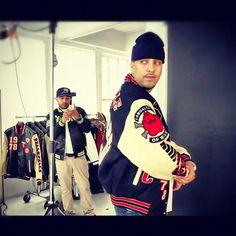 Behind the scenes: Pelle Pelle photoshoot with French Montana