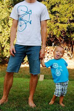 Do it yourself #bike t-shirts  #DIY