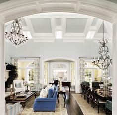 Impressive white room