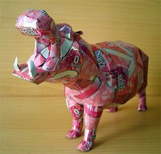Recycled Can Sculptures http://www.luckygroup.com/
