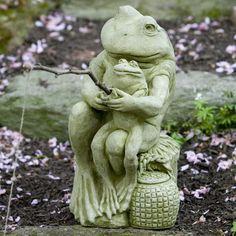 Frog Statue-Fishin'
