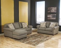Danely - Dusk Stationary Living Room Group by Benchcraft
