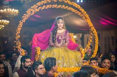 Palki Designs For Bridal Entry. #Threads #WeRIndia