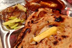 Yummm !!! Fav. Punjabi food !!! Naan dal ..