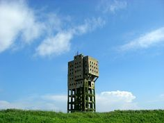 Shimekogyosho-drilling derrick  志免炭鉱竪坑櫓