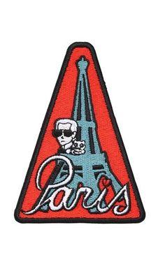 Emblema Karl Lagerfeld, 19€.
