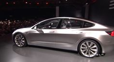 The Tesla Model 3 Has Officially Been Revealed [50 Pics & Official Video]