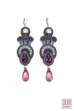 Soutache earrings from Dori Csengeri: Rapsodhy